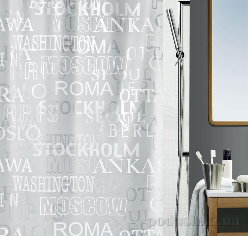 Шторка для ванной Spirella Cities peva