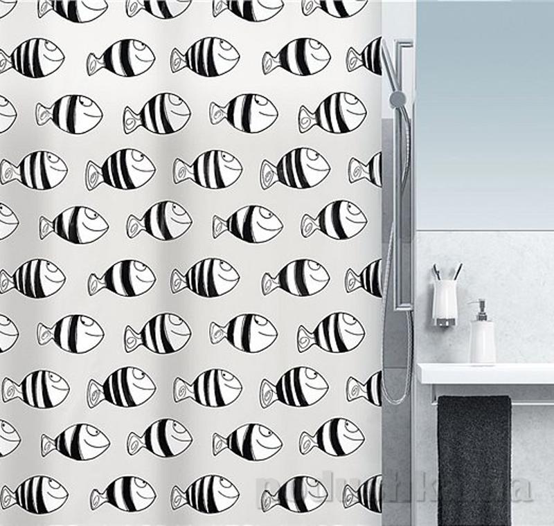 Шторка для ванной Spirella fofy peva
