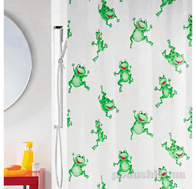 Шторка для ванной Spirella Frogtime pvc