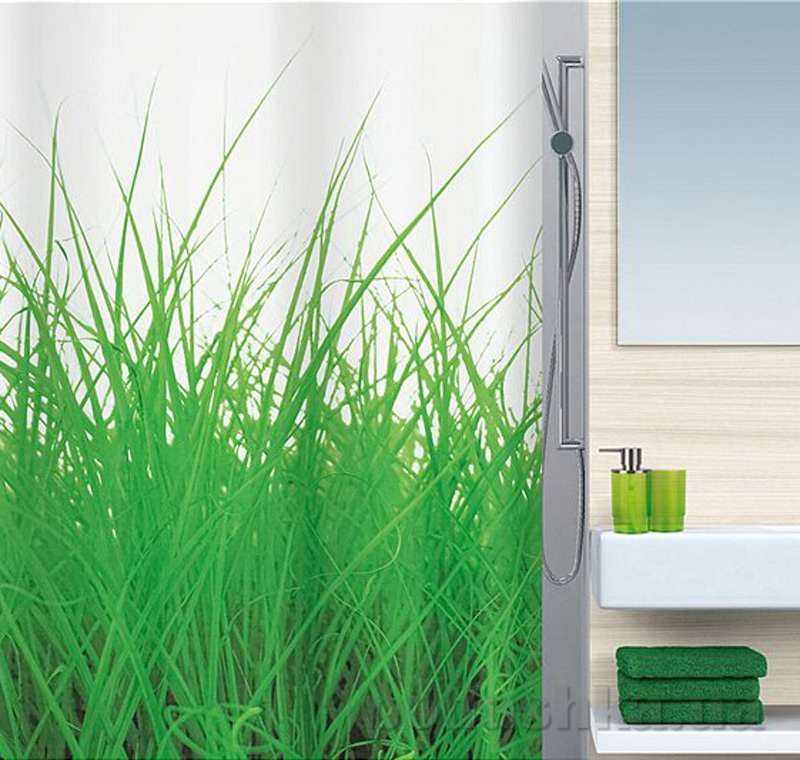 Шторка для ванной Spirella grass