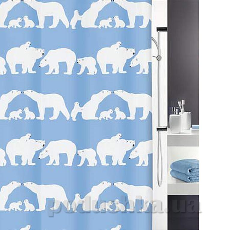 Шторка для ванной Spirella Ice-bear polyester