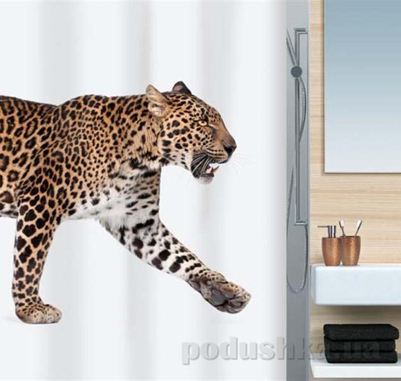 Шторка для ванной Spirella leopard