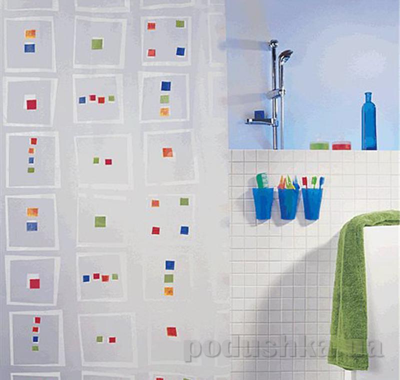 Шторка для ванной Spirella Linus pvc