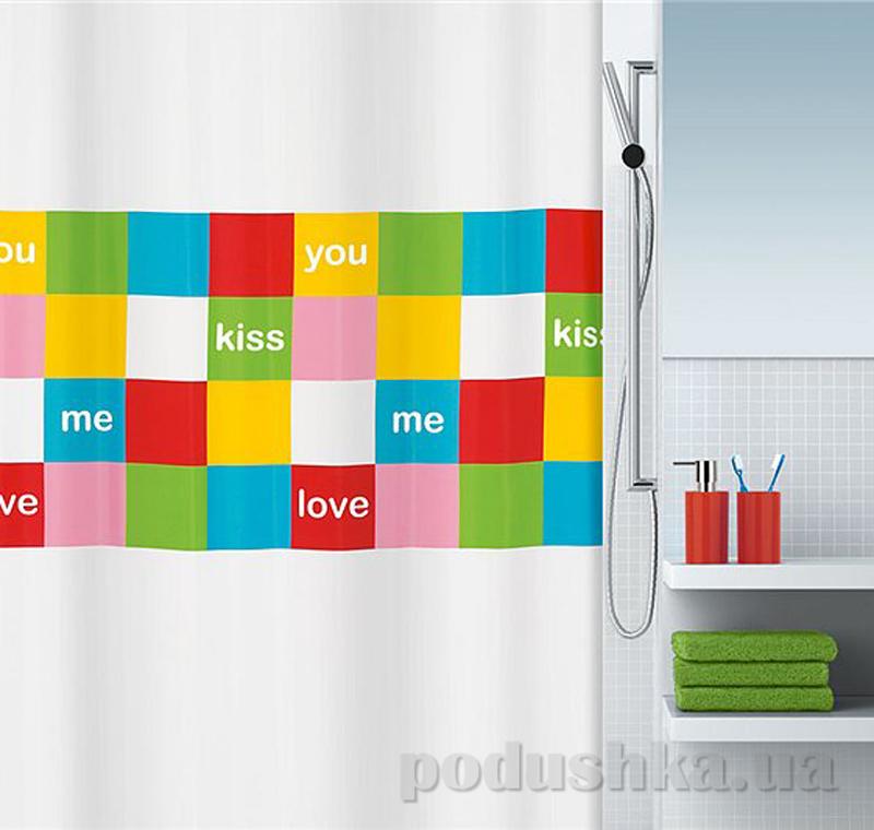 Шторка для ванной Spirella Love