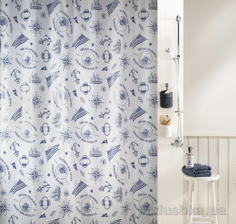 Шторка для ванной Spirella Peva watermill