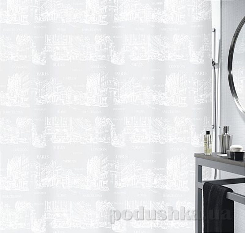 Шторка для ванной Spirella places peva
