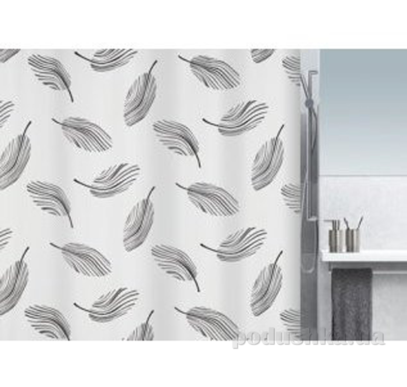 Шторка для ванной Spirella Plumo