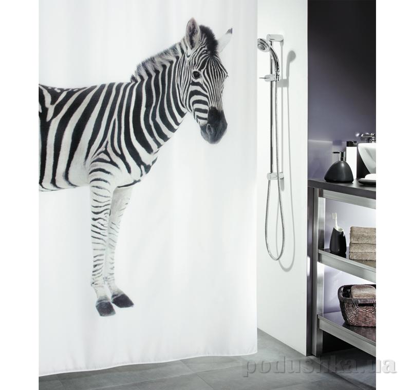Шторка для ванной Spirella Zebra