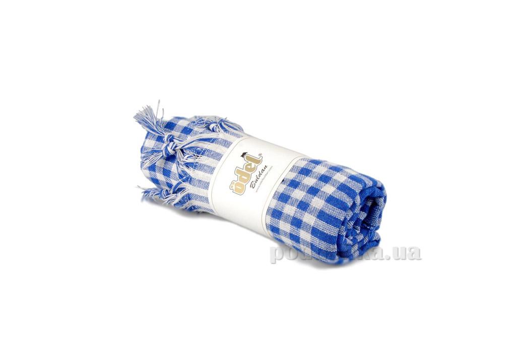 Скатерть Home line клетка DU-004 синяя