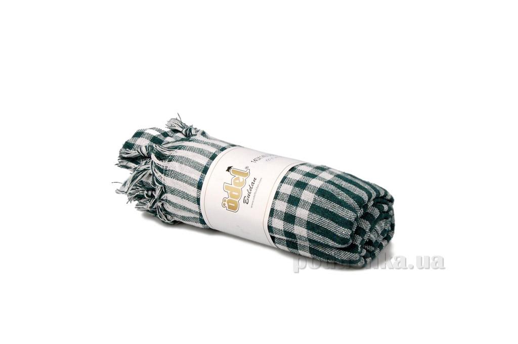 Скатерть Home line клетка DU-004 зелёная