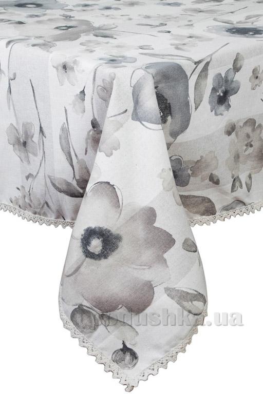 Скатерть Прованс Flowers с кружевом