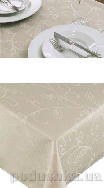 Скатерть пятноустойчивая Friedola FLAIR ROYAL Romanse grey