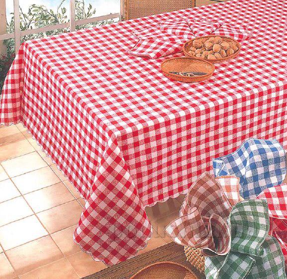 Скатерть с салфетками Ondablu Campagnola
