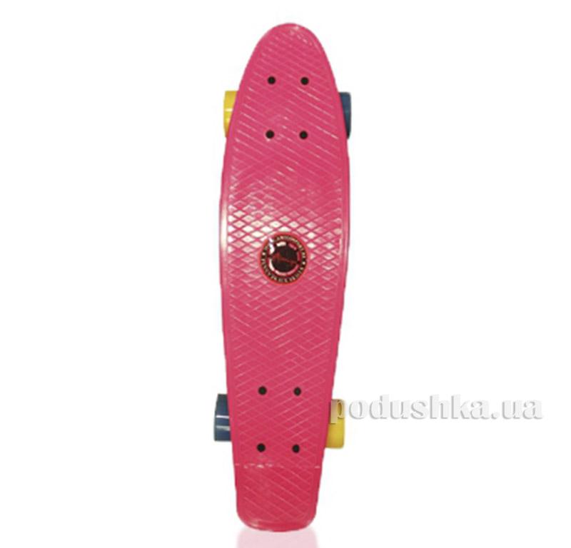 Скейт Amigo Penny Board 22 Розовый