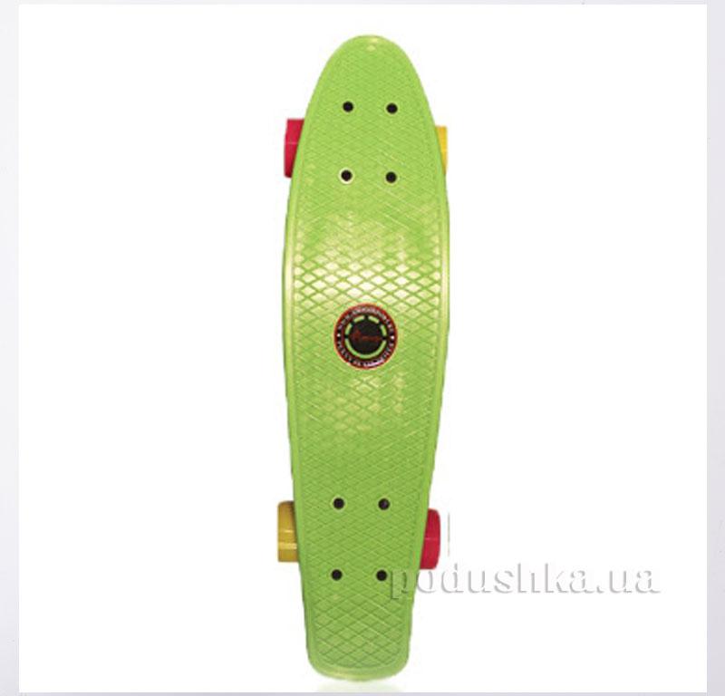 Скейт Amigo Penny Board 22 Зеленый