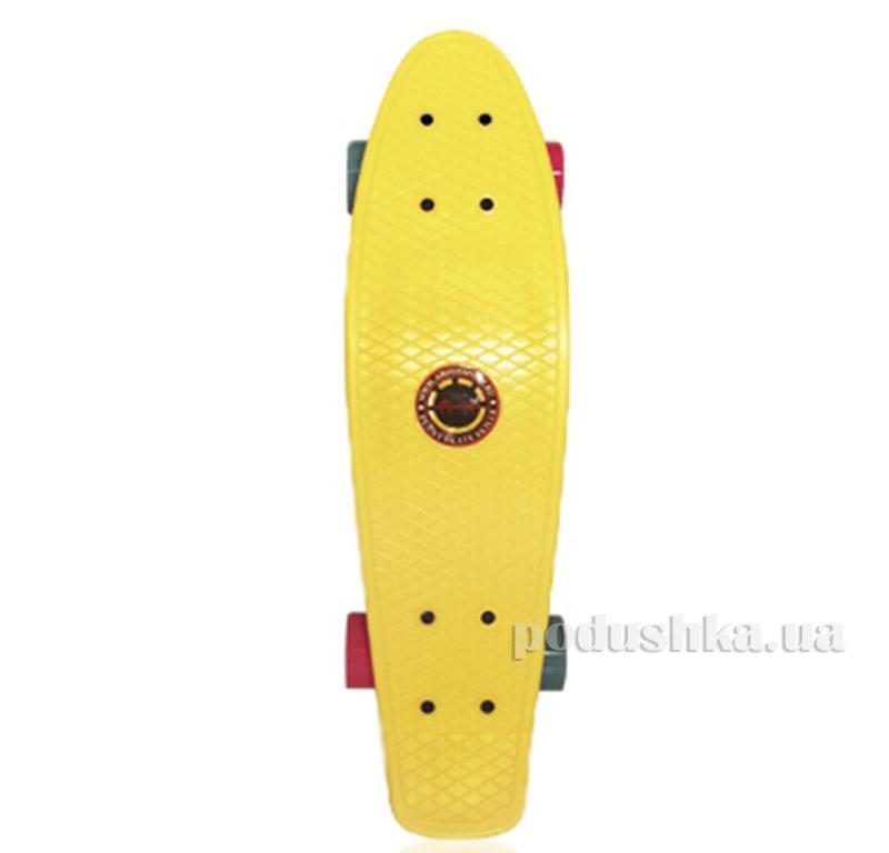 Скейт Amigo Penny Board 22 Желтый
