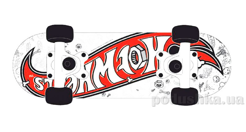 Скейт Hotwheels Mini Board Nuts & Bolts Powerslide 980300