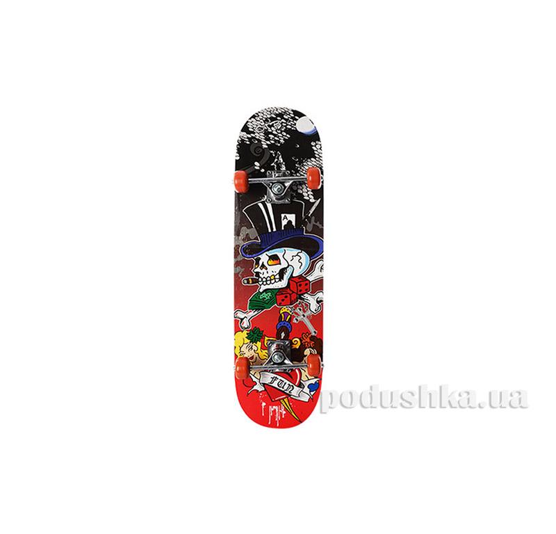 Скейт Profi MS 0322-3 Skull