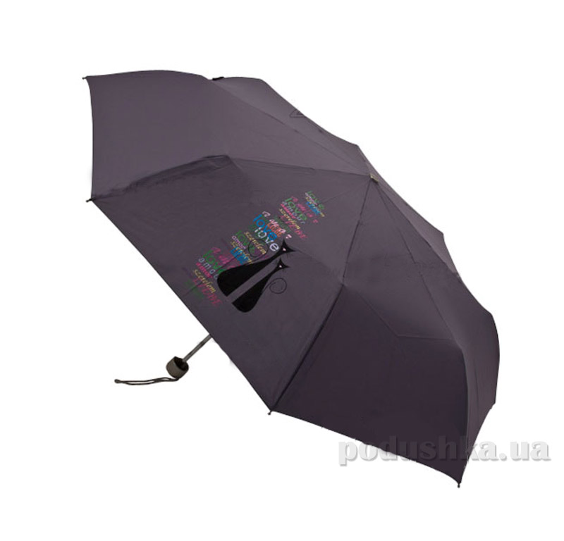 Складной мини-зонт Airton 3512-8084 Серый