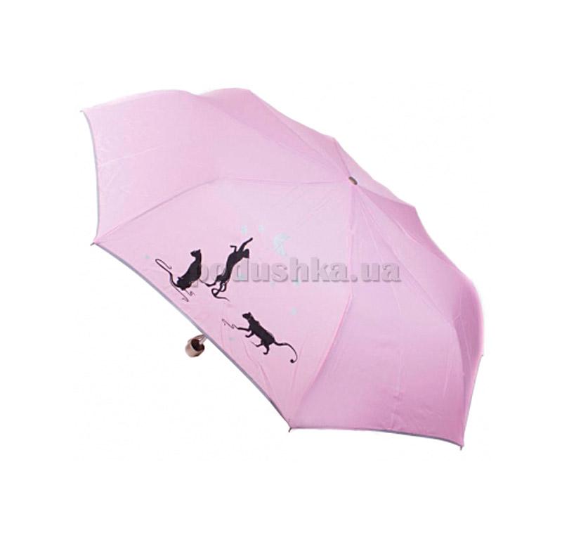 Складной мини-зонт Airton 3512-8090 Нежно-розовый