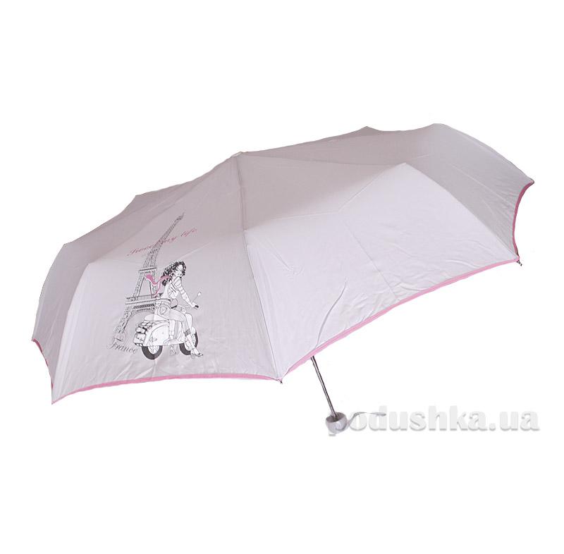 Складной мини-зонт Airton 3517 Девочка на мотороллере