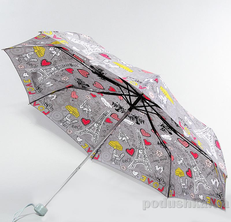 Складной мини-зонт Airton 3517 Из Парижа с любовью
