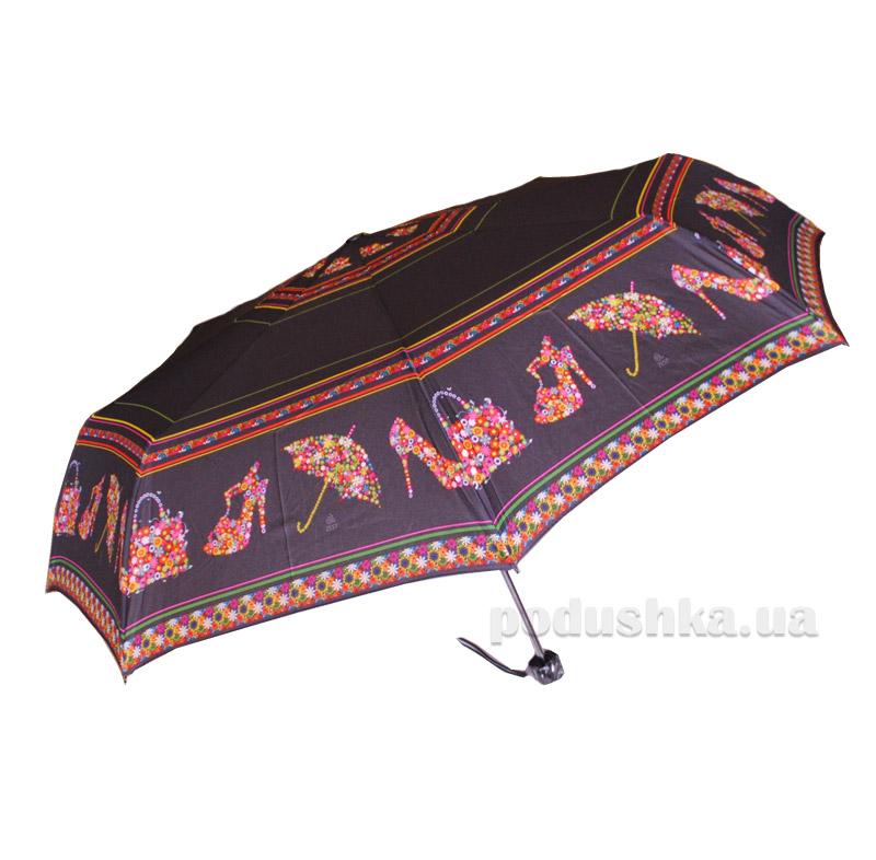 Складной мини-зонт Airton 3517 Цветочное настроение