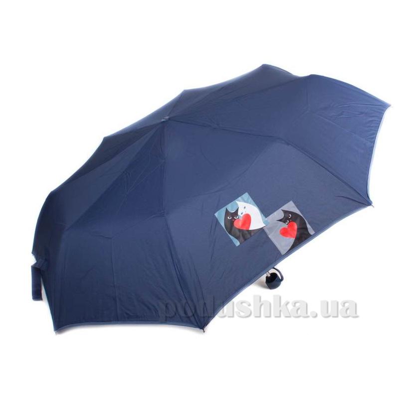 Складной мини-зонт Airton 3517 Влюбленные коты