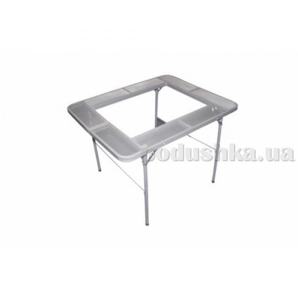 Складной столик для барбекю на ножках Gipfel 70x50 см (нерж сталь)