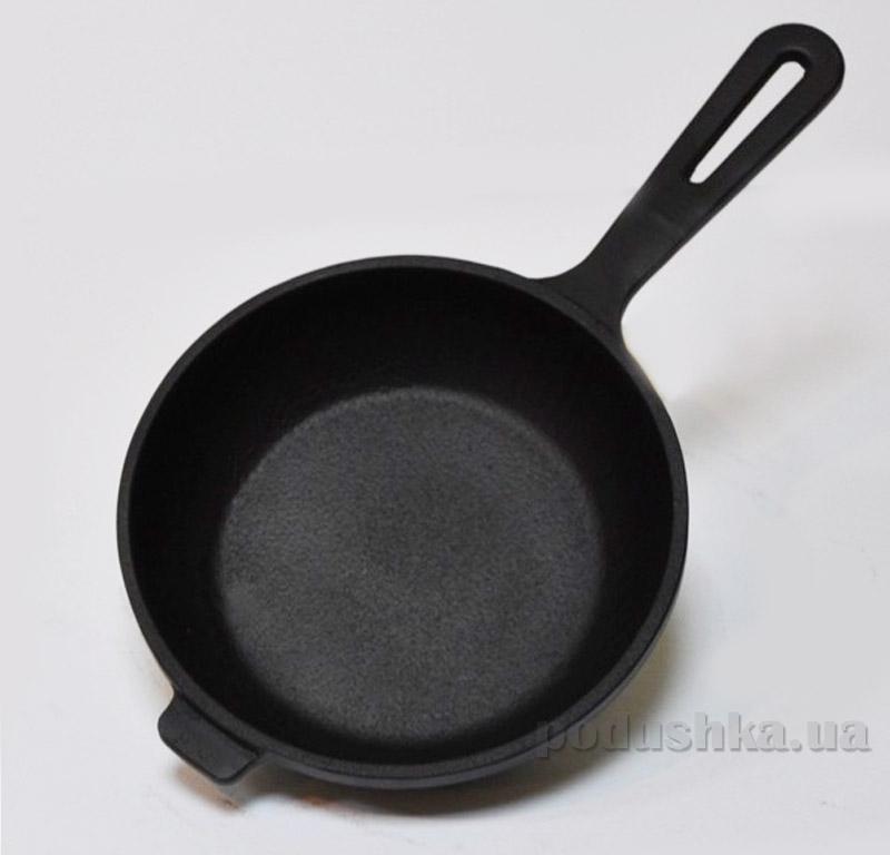 Сковорода с металлической ручкой Chugunoff