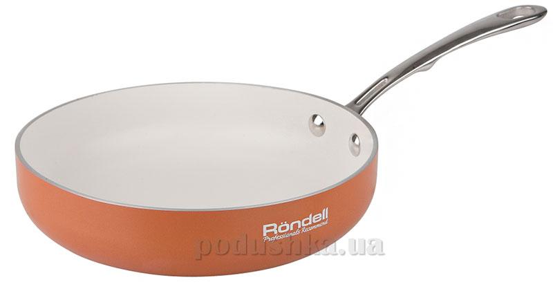 Сковорода б/кр 20 см Terrakotte Rondell 523