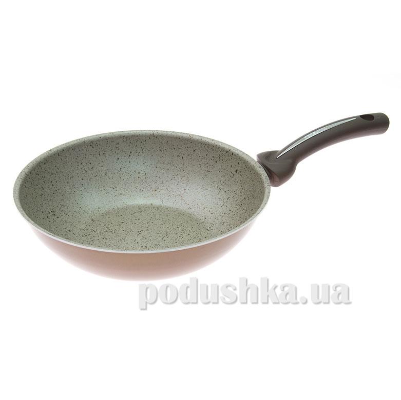 Сковорода Вок Pensofal PEN5408 28см Bio Stone Uniqum Choco   Pensofal