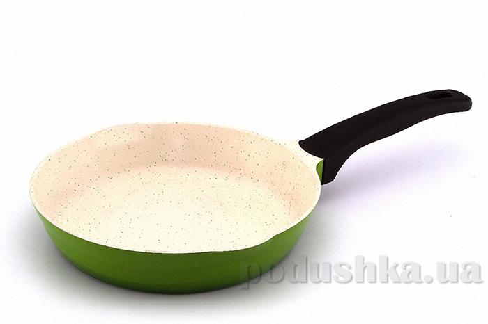 Сковорода зеленая Gipfel VIENNA 24 см