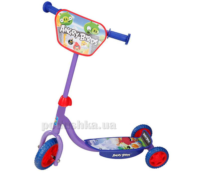 Скутер Angry Birds (3-колесный)