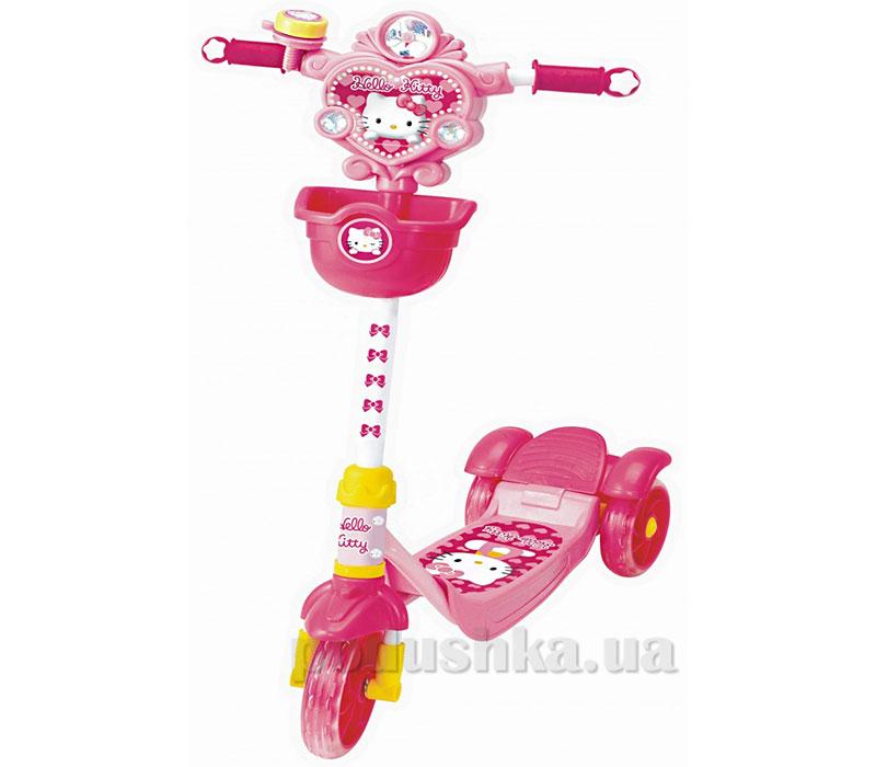 Скутер-самокат Hello Kitty с тормозами YaYa   ТМ YAYA