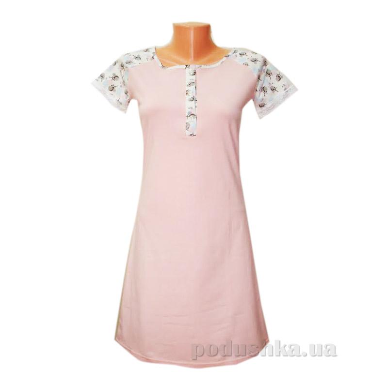 Сорочка VVL-TEX 266/2 розовая