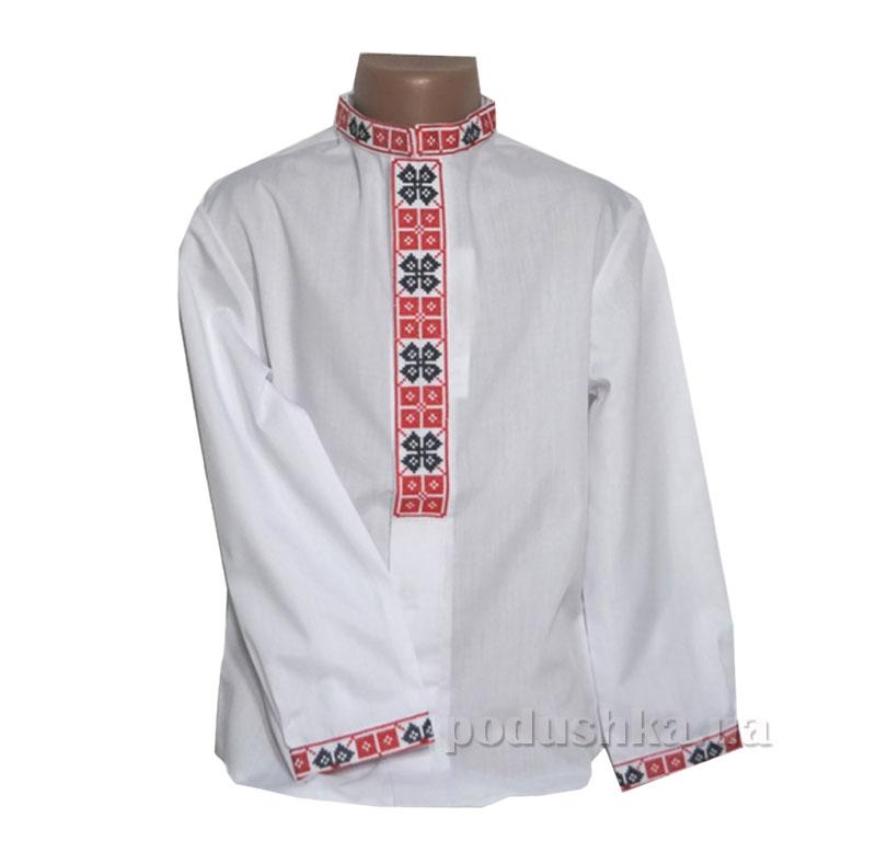 Сорочка вышитая для мальчиков Bimbissimi СХ-003 красная