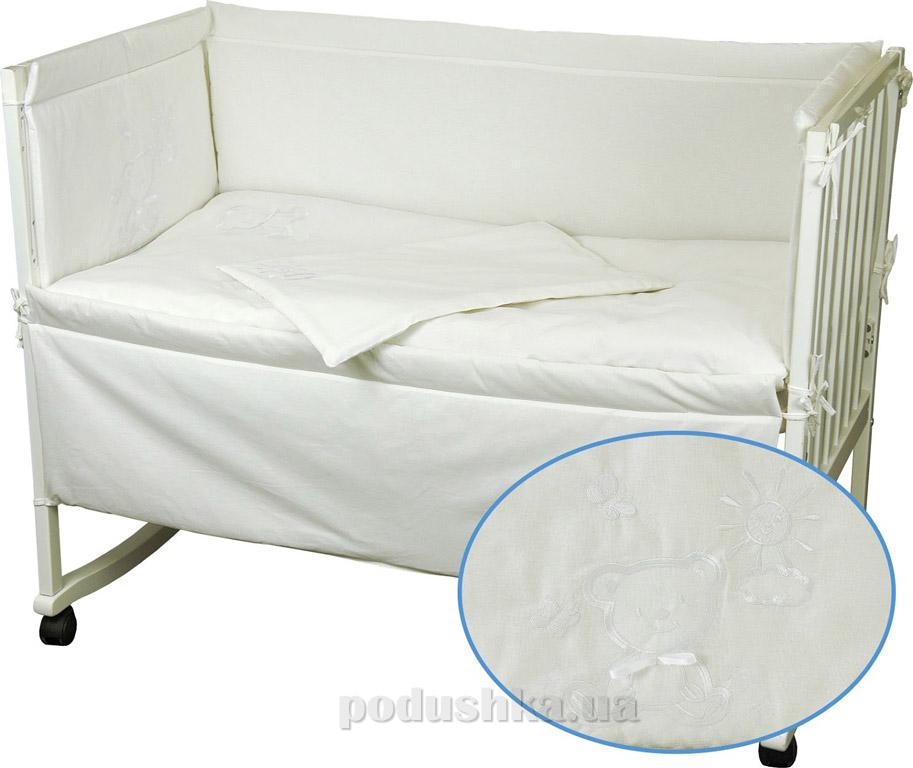 Купить:  Спальный комплект для детской кроватки Руно 977 Мишка   Руно