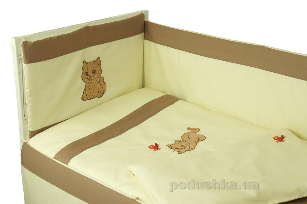 Купить:  Спальный комплект для детской кроватки Руно 977 Рыжик   Руно