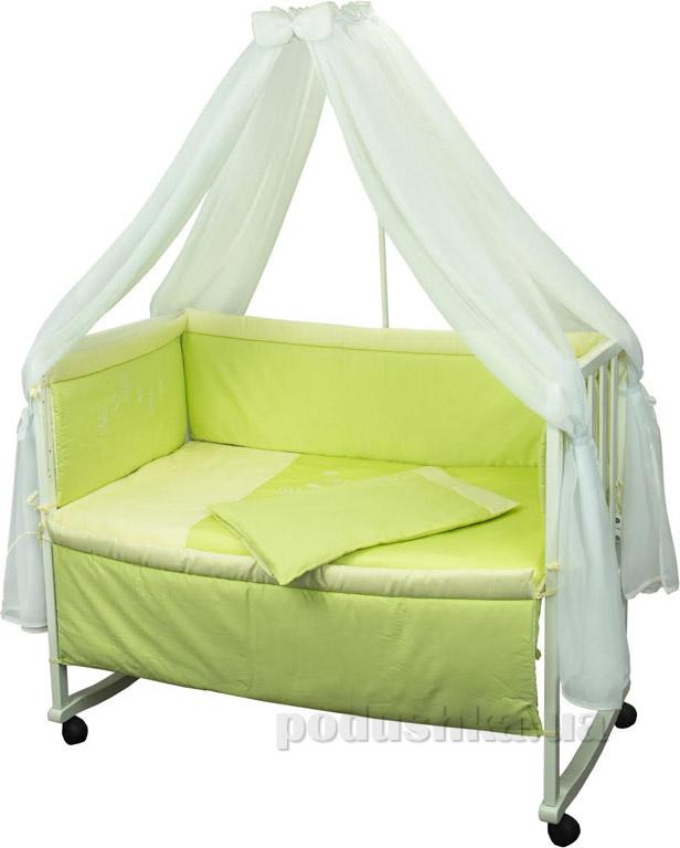 Спальный комплект для детской кроватки Руно Люкс