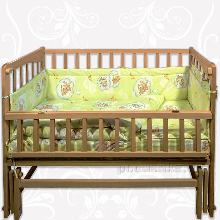 Спальный комплект в кроватку Homefort Амурчик 6 элементов