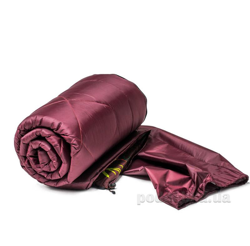 Спальный мешок на молнии ТМ Мiцний сон СМ1 бордо