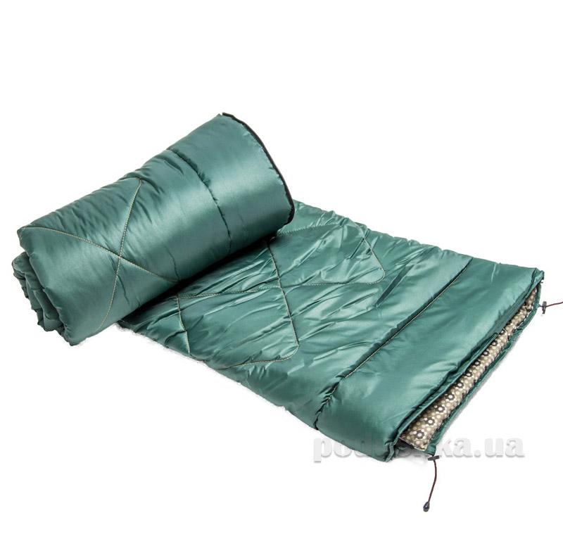 Спальный мешок на молнии ТМ Мiцний сон СМ1 зеленый