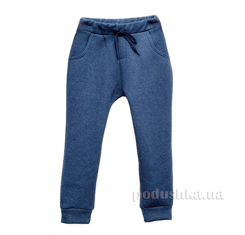 Спортивные брюки флис Kids Couture синие