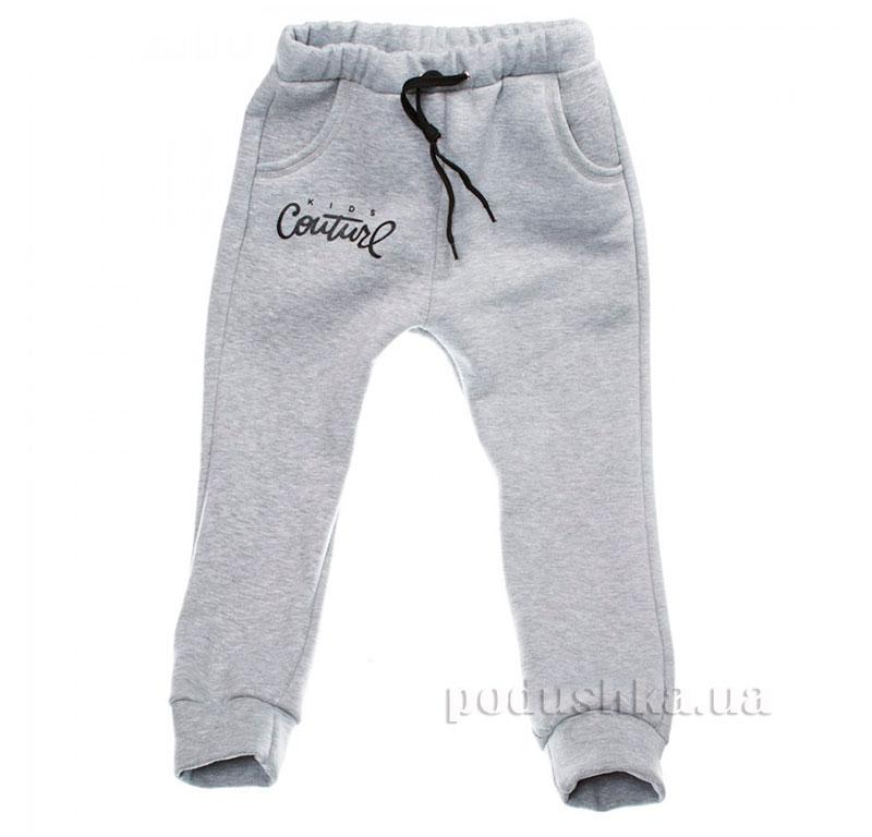 Спортивные брюки Kids Couture серые с черным