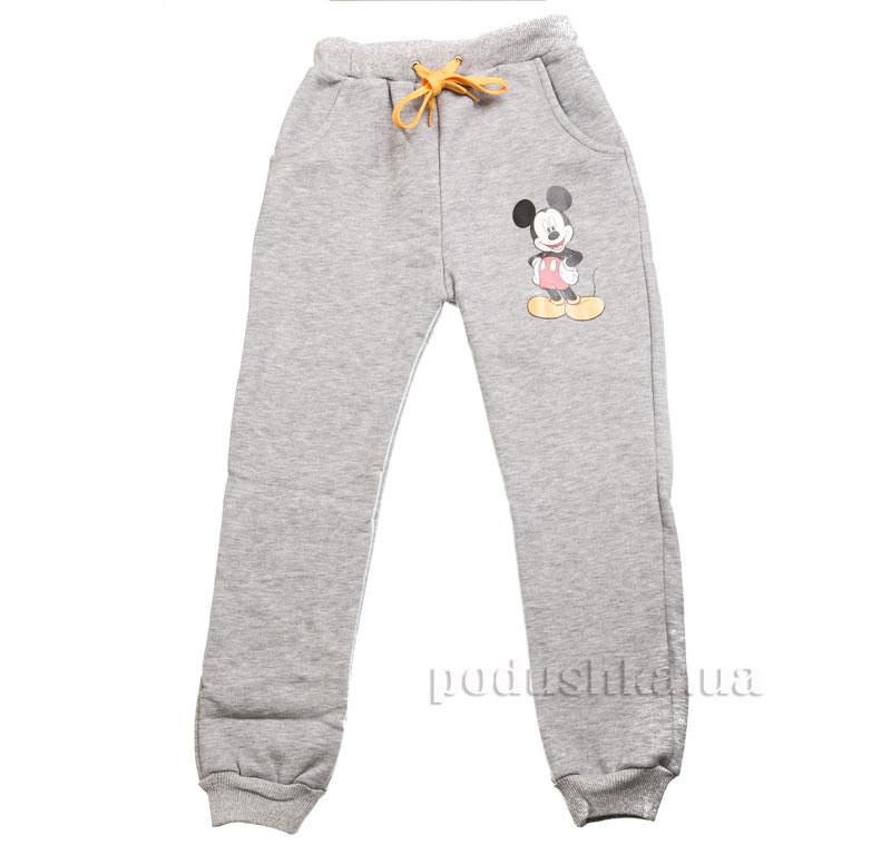Спортивные брюки Мики Маус Kids Couture 16-11 серые