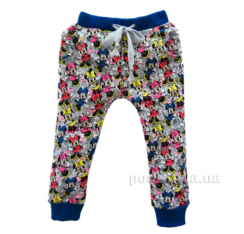 Спортивные брюки Мики Маус Kids Couture 16-11 синие