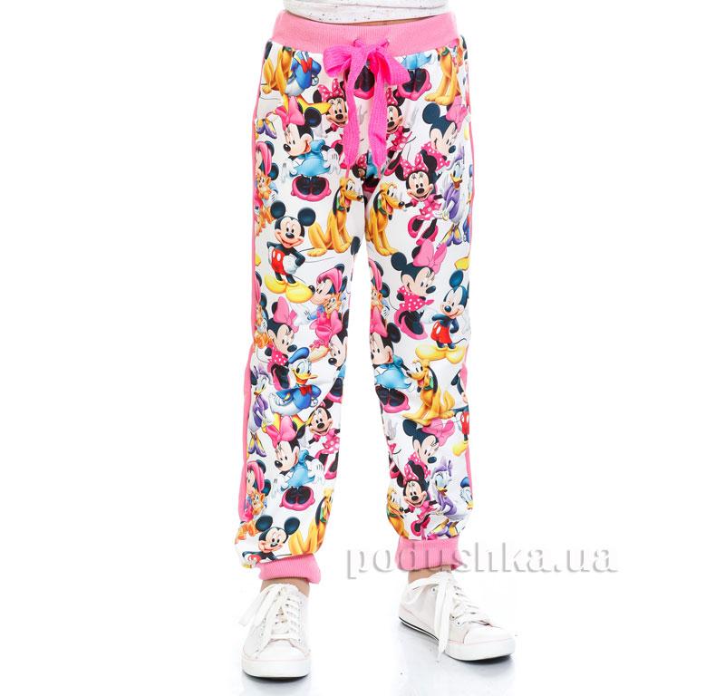 Спортивные брюки Мики Маус Kids Couture 4-001 белые