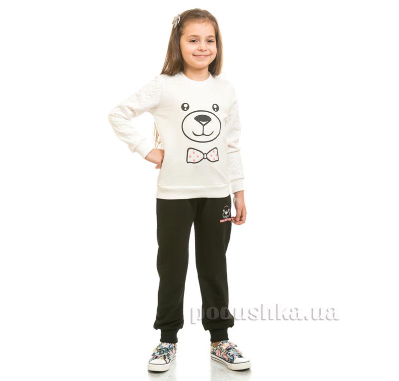 Спортивные брюки Мишка Kids Couture черные