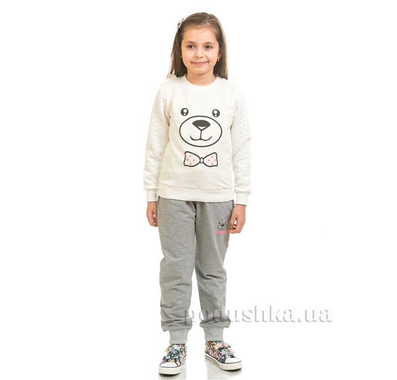 Спортивные брюки Мишка Kids Couture серые